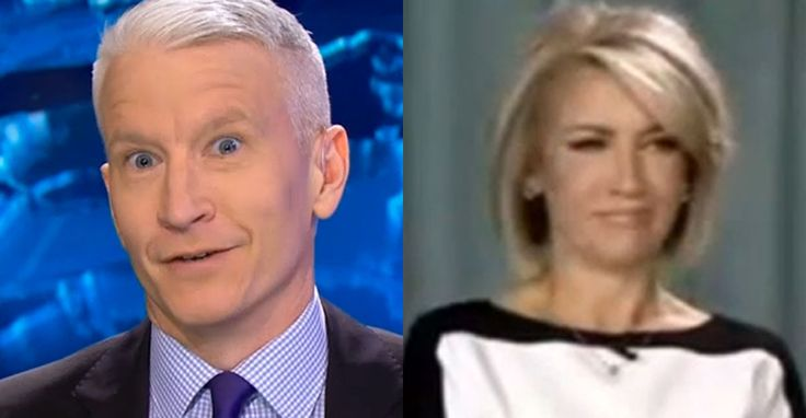 Your favorite silver-haired anchor busts a homophobe with old footage of shirtless dudes. Just another day at CNN.