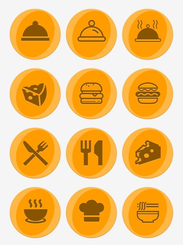 Twelve Practical And Exquisite Food Icons Mbe Icon Gourmet Icon Knife And Fork Png Transparent Clipart Image And Psd File For Free Download Food Icons Food Icon Png Food Magazines Cover