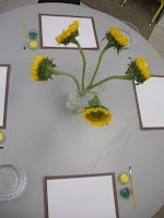 Still Life Art provocation. Please go to my blog to read about the use of provocations.