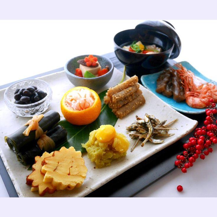 ビビチョコ's dish photo 大変ご無沙汰してますが m    m和バージョンのお節です | http://snapdish.co #SnapDish #おせちグランプリ2016 #お正月 #おつまみ #野菜料理 #煮物