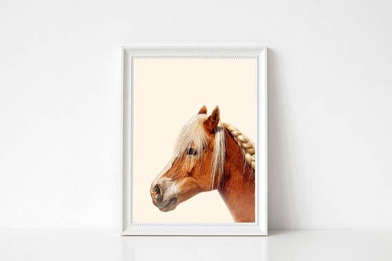 Paard afdrukken kunst aan de muur dieren afdrukken moderne