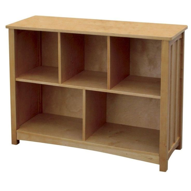 Classic Honey Oak Finish Bookshelf Storage Shelves Home Office Furniture #bookshelf