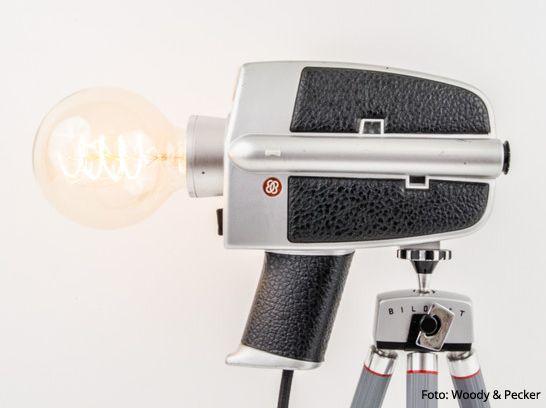 WOODY PECKER Aus Leipzig Verwandelt Alte Kameras In Schicke Vintage Lampen Die Mein Designherz