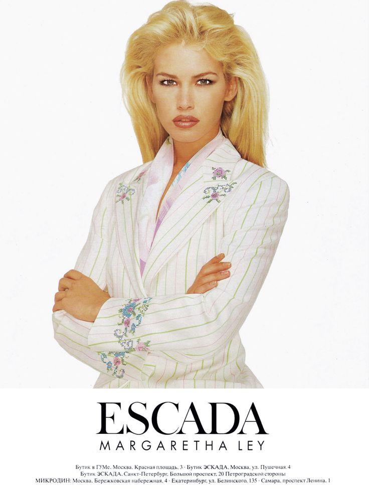 ESCADA Margaretha Ley - 1996 - Valeria Mazza