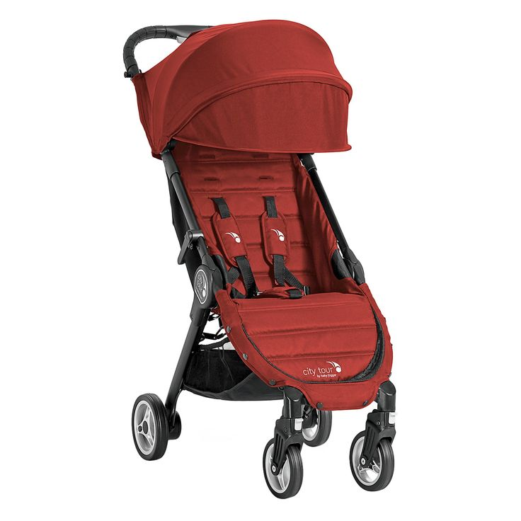 Baby Jogger City Tour Stroller, Red