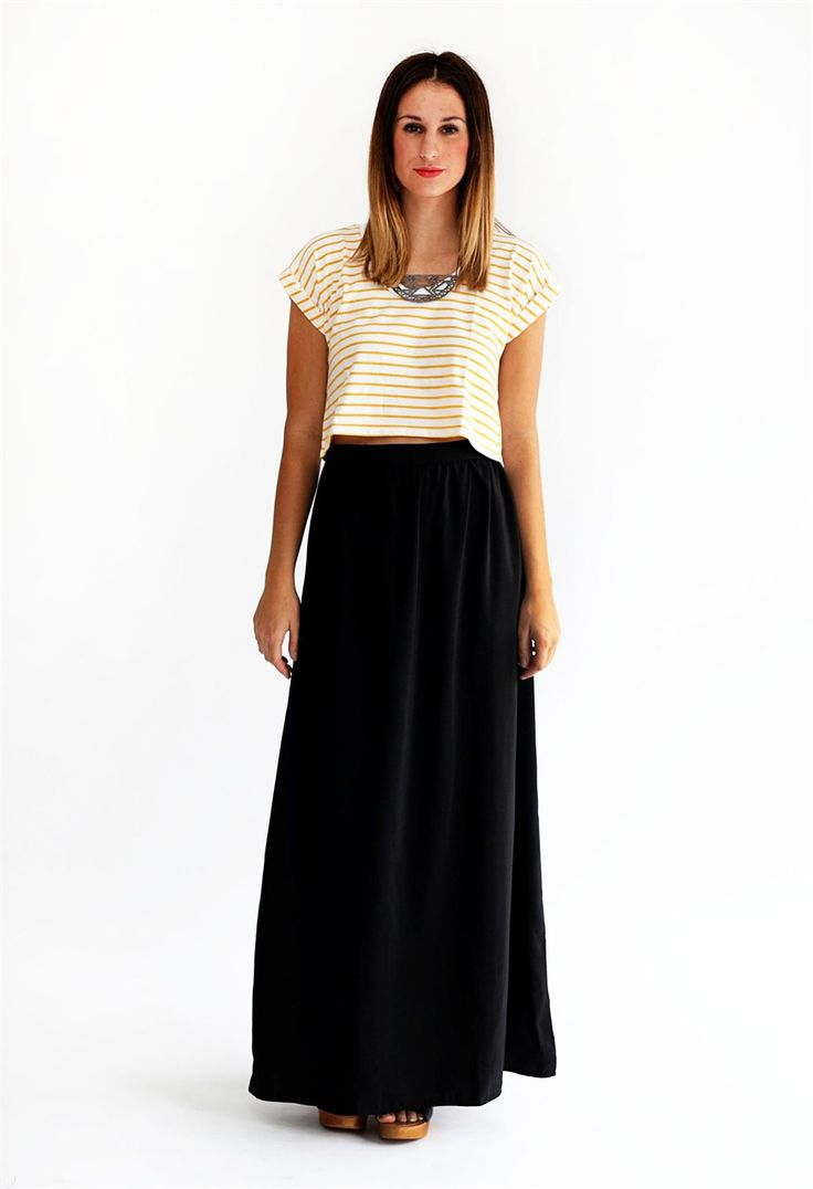 9 best How to Wear Black Maxi Skirt images on Pinterest | Animals ...