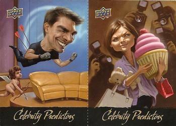 2010 Upper Deck - Celebrity Predictors #CP7-CP8 Katie Holmes / Tom Cruise Front