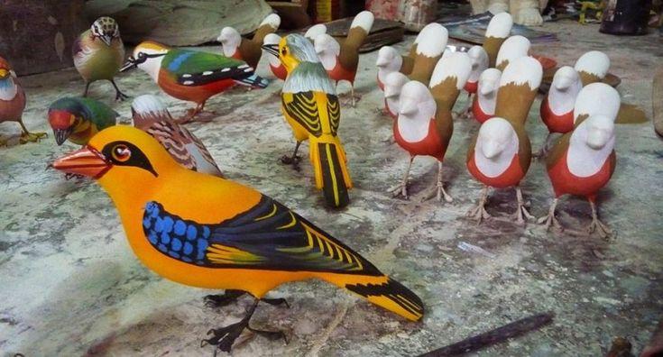 paper-mache-birds-ujjain, Madhya Pradesh.