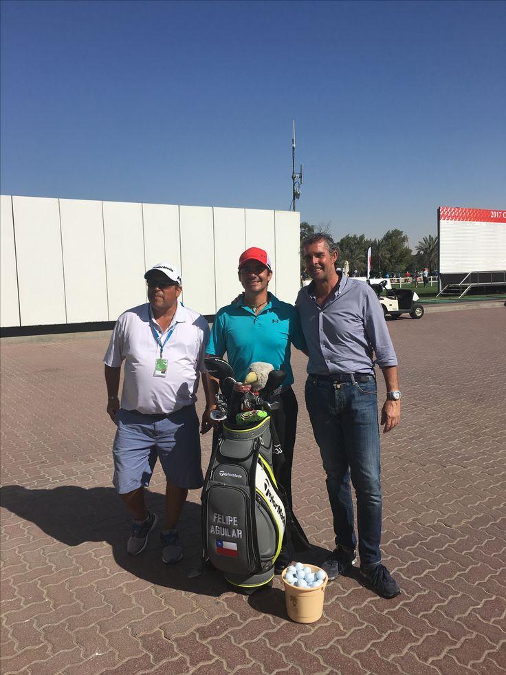 Felipe Aguilar e Raimondi all' Omega Dubai Desert Classic 2017  #raimondi #raimondigolfshoes⛳️🏌🏌️♀️👞 #golfshoes #desertclassic #madeinitaly #handmadeinitaly #originali #golf #dubai #2017 #emiratesgolfclub #omegadubaidesertclassic #felipeaguilar