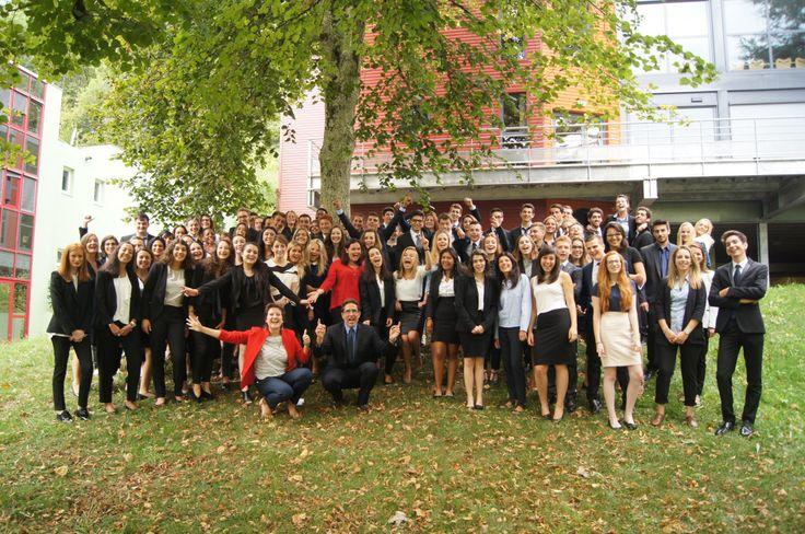 Rentrée 2015 des étudiants en prérequis de Savignac pour l'ensemble des formations en management hôtelier de l'Ecole, du niveau Bac + 2 au Bac + 5