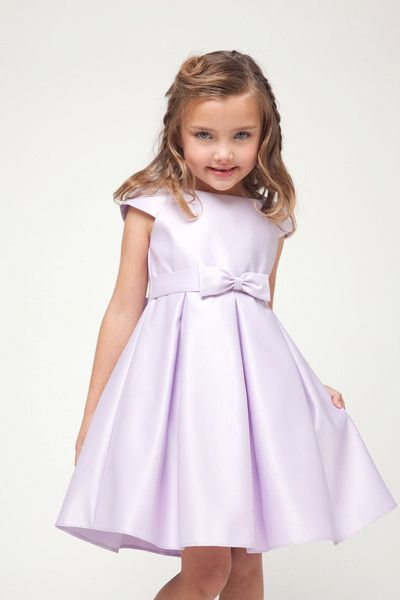 Kid Collection Girls Charming Box Pleated Dress Girls