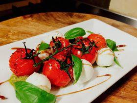 Everybody Loves an Italian: Roasted Vine Tomato & Mozzarella Salad