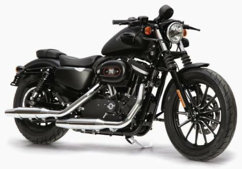 Harley Davidson 883 iron dark edition