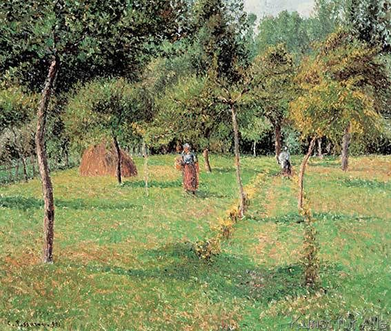 Camille Pissarro - Der Obstgarten in Eragnysur-Epte