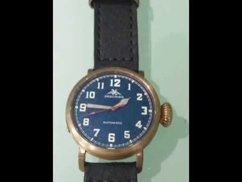 Cusn8 bronze watch