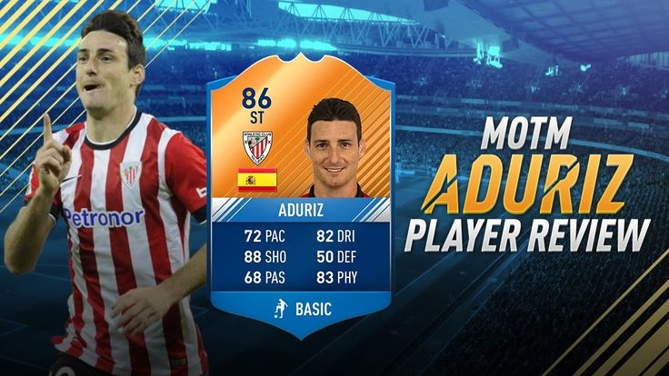 Fifa 17 MOTM Aduriz Review - 86 Man of the Match Aduriz Player Review - Fifa 17 Ultimate Team