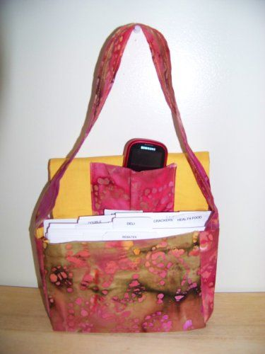 How To Make Your Own Couponing Bag Organizer Tutorial Pattern
