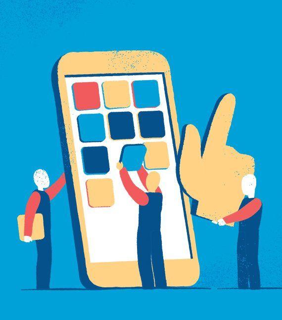 Costruzione di Applicazioni Mobile illustrazione di Mirko Grisendi