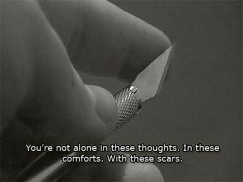 Self Injury Quotes | mine self harm cutting scars self ...