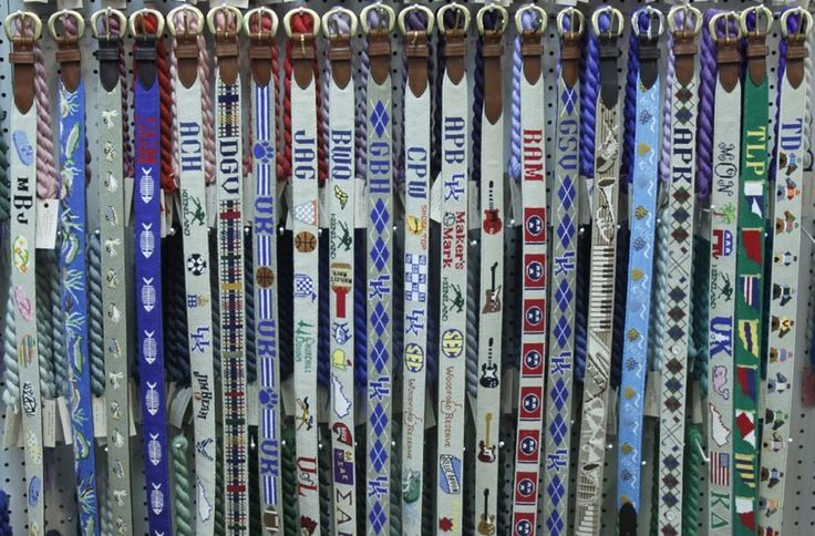 Needlepoint Belt Canvas Designs | The Eye of the Needle: The Nation's Finest Needlepoint Shop