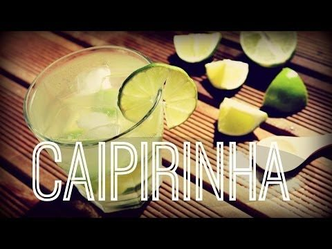MY Caipirinha recipe (for one glass): cut the ends off of one lime, cut the lime lengthwise, make a 'v' cut down the middle to remove the bitter white bit, then thinly slice the lime. Put into a glass along with approx 2 heaped teaspoons of sugar. Muddle (but not too strongly, otherwise it can go bitter). Add crushed ice and top with 60ml of cachaca. Oh, and add a tiny bit of salt (it brings out the citrus flavour). Drink! (it's STRONG).  Can also grate a bit of lime zest on top.