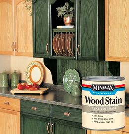 This wood stain comes in about 50 different colors - perfect for reclaiming an old piece of furniture nobody else wanted - give it a good cleaning and sanding, use Minwax pre-stain and then you can turn a piece of junk into a family treasure!