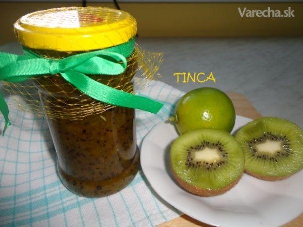 Kiwi džem (fotorecept) - Recept