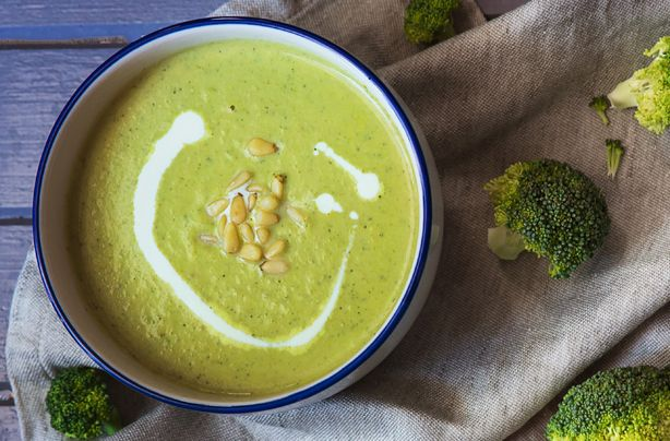 With every spoonful of this stilton and broccoli soup you'll want more! Only 25 minutes of cooking time and it is soupier satisfying.