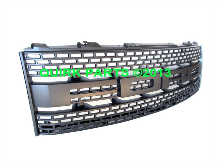 2012-2014 Ford F-150 SVT Raptor Foundry Grey FORD Front Radiator Grille OEM NEW - Ford (CL3Z-8200-EA)