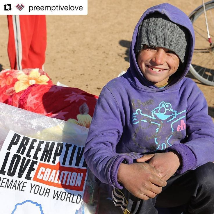 """let us not love with words or speech but with actions and in truth."" (1 John 3:18) --- If the events of the last few days have left you feeling overwhelmed angry helpless or afraid there is hope. One organization that is doing beautiful work right now is @preemptivelove. They provide practical aid to those victimized by ISIS including medical care emergency relief sustainable resources of revenue for families affected and more. Join them in confronting fear with acts of love. --- Ali and…"