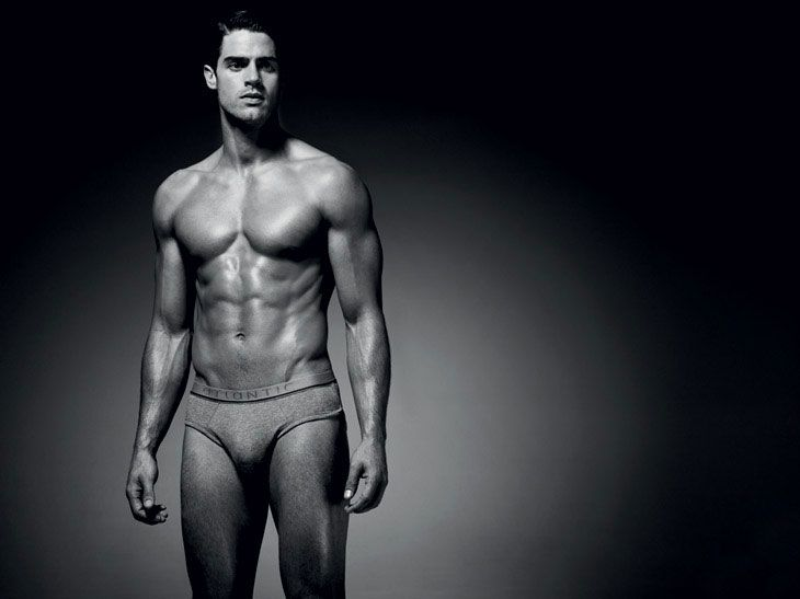 Model Chad White For Atlantic - The Underwear Expert