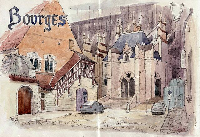 La ville de Bourges par Catherine Gout