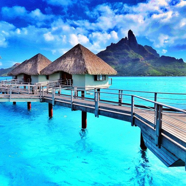 A favourite. Le Meridien Resort, Bora Bora, French Polynesia. by mthiessen