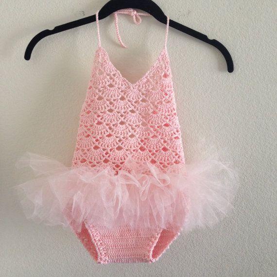Crochet Ballerina Dress Crochet Ballet by KnittyBittyHandmade