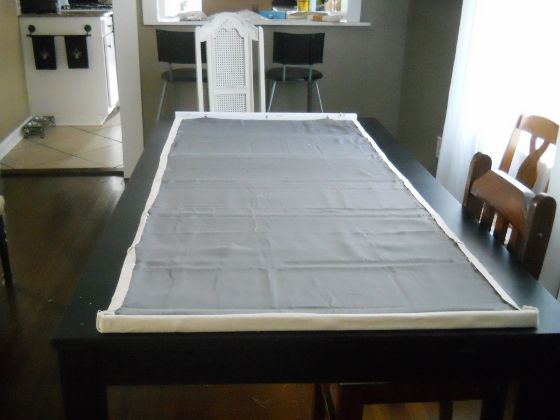DIY Blackout Shades–Part 1 | Living Well on the Cheap.  I could make these using my blackout curtains as the back, then make some pretty curtains to go in front.