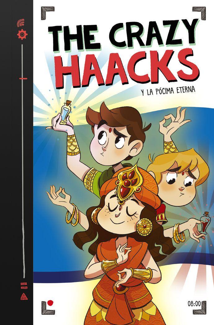 Crazy Haacks 8 Y La Pocima Eterna En 2020 Literatura Juvenil Soy Un Desastre Risa