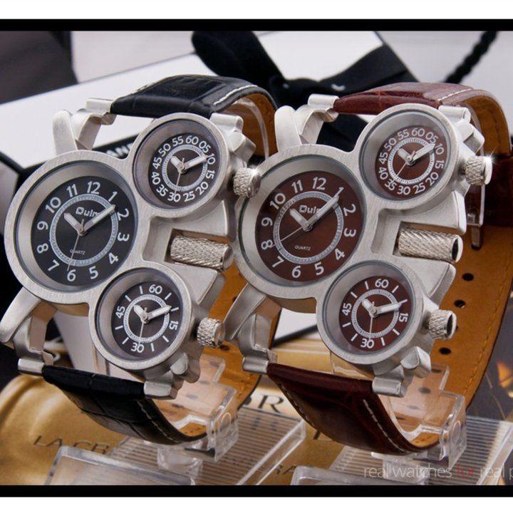 남자손목시계/유니크시계/쓰리타임/가죽시계/남자친구선물택포 27,500쓰리타임/쓰리아이 손목시계입니다. 색상은 세 가지 구요. 사진 참고바랍니다 ^^ 남자친구선물용으로도 아주 좋습니...