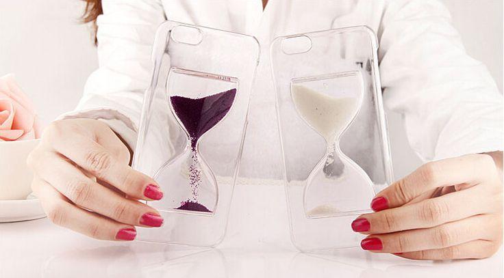 Snart är dem här... Sand glass, ett fantastiskt skal men flytande mystisk vätska inuti.