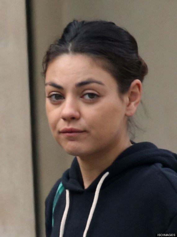 I don't understand why people are making such a big deal of Mila Kunis w/out make-up. she's a normal woman and beautiful no matter what. Make-up doesn't make the beauty of a woman!