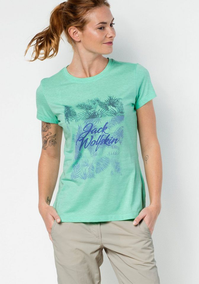 0757fba4741cb7 Jack Wolfskin T-Shirt »ROYAL PALM T WOMEN« in 2019 | Produktkatalog ...