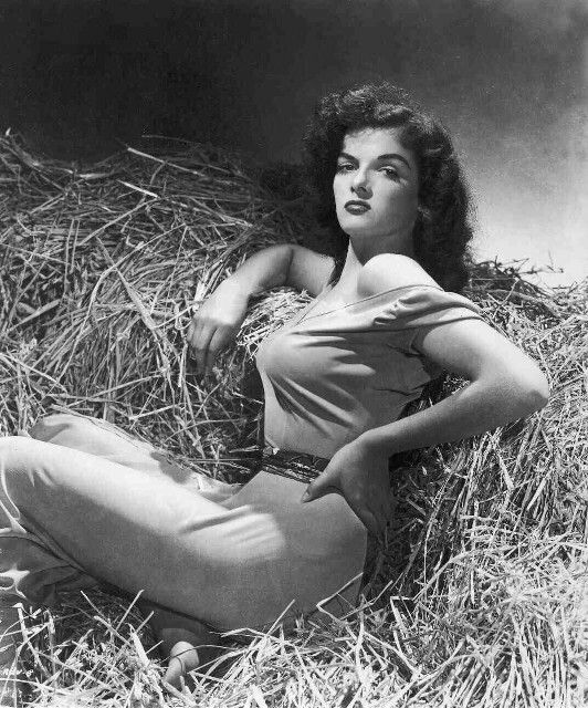 "1943 - ""THE OUTLAW"" Publicity shot of Jane Russell as Rio"