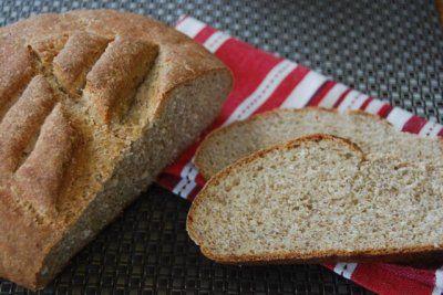 Oat Bran & Flaxseed Bread - Vegan, sub agave for honey