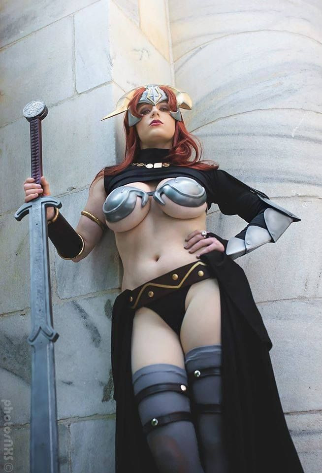 """cosplay-paradise: """"Claudette from Queen's Blade by Abby Dark-Star cosplayparadise.net """""""