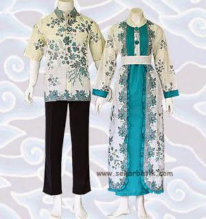 Baju Batik Terbaru Model Terkini Gamis Batik Sarimbit
