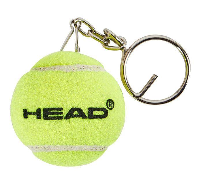 Head Tennis Ball Mini Key Ring Clip On Key Chain Holder Pendant Loop 589000 Head Key Chain Holder Head Tennis Keychain