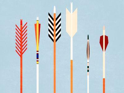 Arrows by Trevor Baum http://dribbble.com/shots/446142-Arrows?list=users#