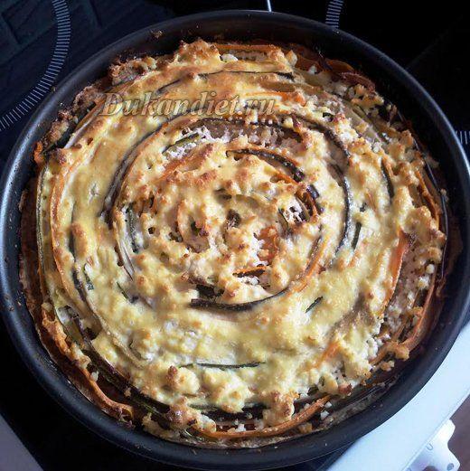 Пирог «Овощная идиллия» | Диета Дюкана