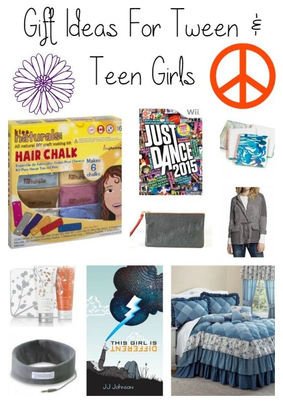gift guide for tween girls and teen girls. Christmas gift ideas or would work for birthdays!