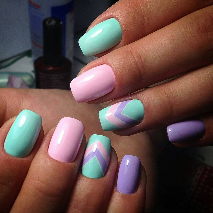 "289 Likes, 4 Comments - Ногти   Маникюр   Nails (@dizajn_nogtej) on Instagram: ""Мастер @raisafatueva_nails #маникюр #ногти #красивыйманикюр #красивыеногти #идеиманикюра…"""