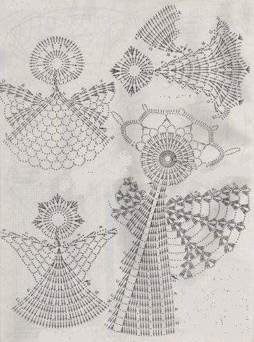 Crochet Angel - Chart